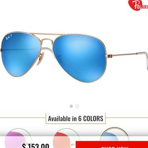 RayBan Small Frame with Case